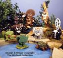 Backyard Critters Layered Animal Pattern Set