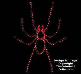 Spider Nite-Lite Wood Plan