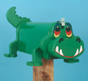 Gator Mailbox Woodcraft Pattern