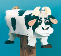Country Bull Mailbox Wood Pattern