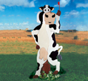 Standing Cow Mailbox Woodcraft Pattern