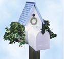 Birdhouse Planter Mailbox Pattern