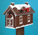 Gingerbread House Mailbox Woodcraft Pattern