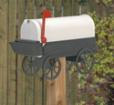 Covered Wagon Mailbox Woodcraft Pattern