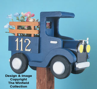 Old Time Truck Mailbox Woodcraft Pattern