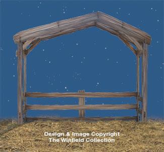 Nativity Stable Woodcraft Pattern