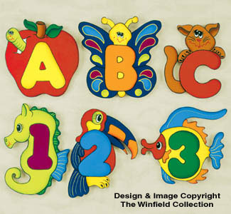 Childrens Wall Plaque Pattern
