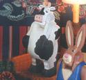 Cow Nutcracker Woodcraft Pattern