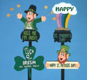 St. Paddy's Day Signs Pattern