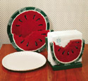 Watermelon Plate /Napkin Holder Pattern