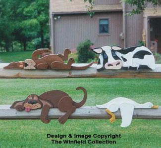Lazy Rail Pet Collection Pattern