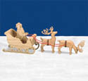 3D Sleigh & Reindeer Scroll Saw Patterns