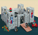 Medieval Castle Play Set Plans