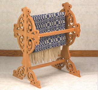 Other furniture victorian quilt rack scroll saw pattern for Victorian furniture plans