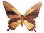 Butterfly Scroll Saw Pattern