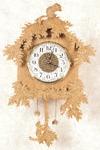 Chipmunk Wall Clock Pattern