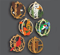 3D Ornament Globes Scroll Saw Pattern Set