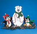North Pole Trio Screen Pattern 15