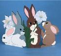 Rabbit Fireplace Screen Pattern