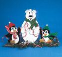 North Pole Trio Screen Pattern 30
