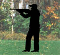 Standing Hunter Shadow Woodcraft Pattern
