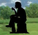 Pipe Smoker Shadow Woodcrafting Pattern