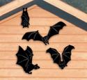Vampire Bat Shadow Woodcraft Pattern