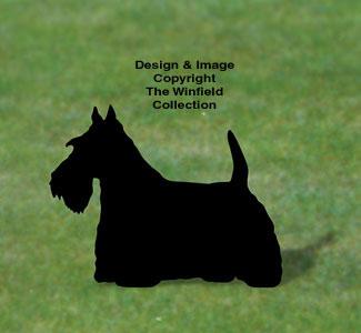 Scottish Terrier Shadow Woodcraft Pattern