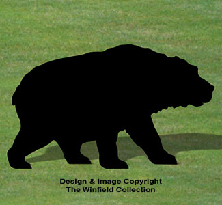 Grizzly Shadow Woodcrafting Pattern