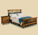 Mission Bed & Nightstand Plan