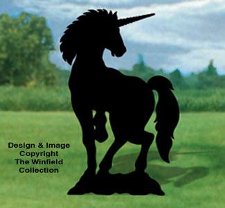 Unicorn Shadow Woodcrafting Pattern