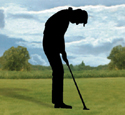 Standing Putter Shadow Woodcrafting Pattern