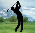 Golfer Shadow Woodcrafting Pattern