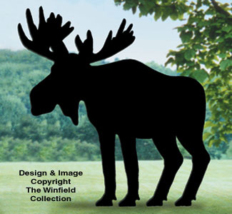 All yard shadows moose shadow woodcrafting pattern for Yard shadow patterns