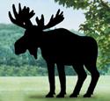 Moose Shadow Woodcrafting Pattern