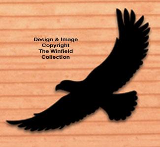 Life-Size Eagle Shadow Woodcraft Pattern