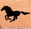 Running Horse Shadow Wood Pattern