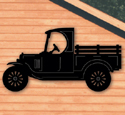 Model-T Truck Shadow Woodcraft Pattern
