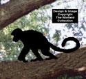 Monkey Shadow #2 Woodcraft Pattern