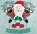Santa & Pals Sign Pattern