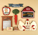 13 Country Signs  Woodcraft Pattern