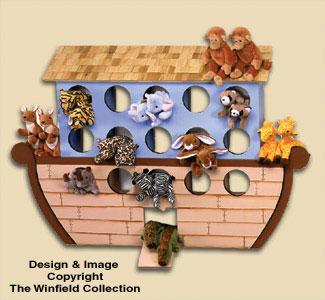 Bean Bag Animal Ark Woodcraft Pattern