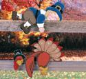 Lazy Pilgrim & Turkey Woodcraft Pattern