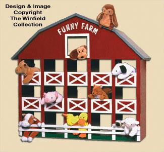 Bean Bag Animal Barn Woodcraft Pattern
