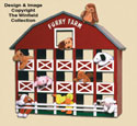 Bean Bag Animal Barn Woodcraft Pattern