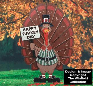 Thomas Turkey Yard Sign Pattern