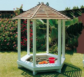 Gazebo Sandbox Wood Plan