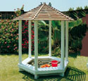 Gazebo Sandbox Wood Plan