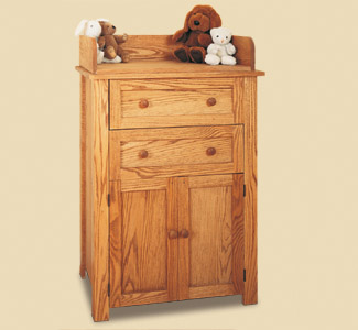 Changing Table & Dresser Wood Plans