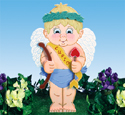 Little Cupid Woodcraft Pattern